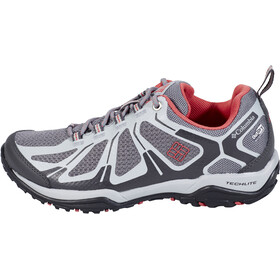 Columbia Peakfreak XCRSN II XCEL Low Outdry Zapatillas Mujer, ti grey steel/sunset red